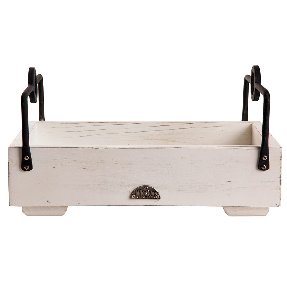 Tray with Rectangular Handles